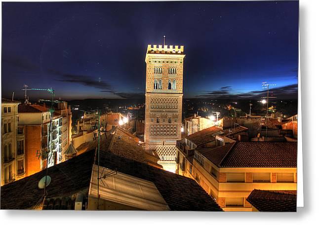 Teruel Greeting Cards - Mudejar 3 Greeting Card by Antonio Garcia