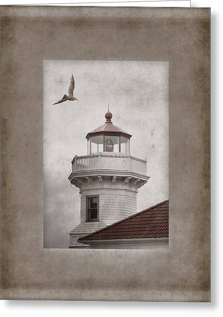 Historical Lighthouse Greeting Cards - Mukilteo Light Washington Greeting Card by Carol Leigh