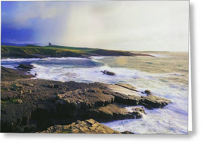 Clare Greeting Cards - Mullaghmore, Co Sligo, Ireland Greeting Card by The Irish Image Collection