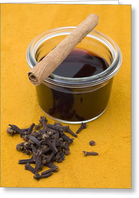 Spice Greeting Cards - Mulled wine Greeting Card by Frank Tschakert
