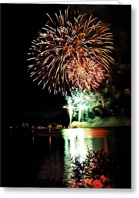 North Fork Digital Greeting Cards - Multicolor starburst Greeting Card by Don Mann