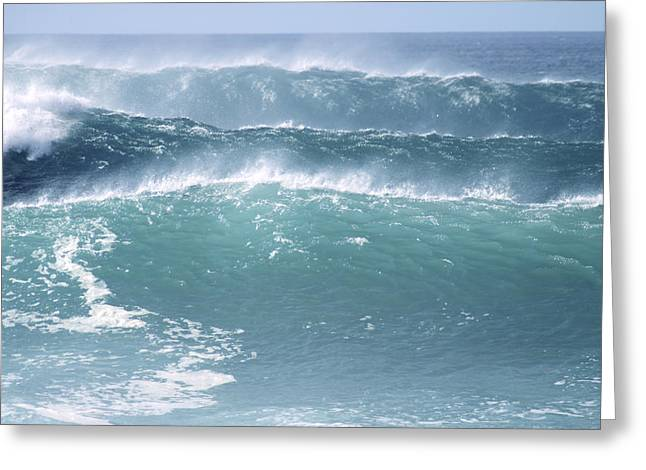 Vince Greeting Cards - Multiple waves Greeting Card by Vince Cavataio - Printscapes