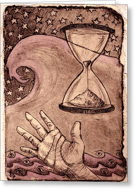 Janelle Schneider Greeting Cards - Multiplicity Greeting Card by Janelle Schneider