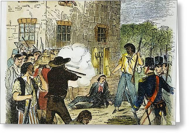 MURDER OF JOSEPH SMITH Greeting Card by Granger