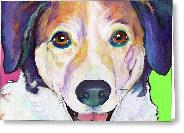 Murphy Greeting Card by Pat Saunders-White
