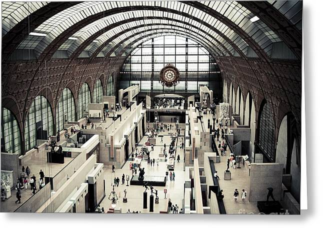 Musee D'orsay II Greeting Card by RicharD Murphy