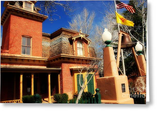Silver City Greeting Cards - Museum in Silver City NM Greeting Card by Susanne Van Hulst