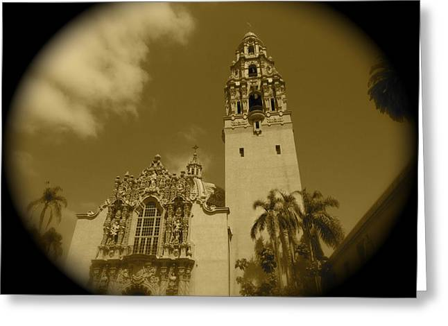 Jeremy Greeting Cards - Museum of Man Balboa Park Number 1 Greeting Card by Jeremy McKay