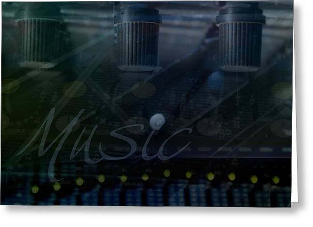 Processor Digital Greeting Cards - Music Greeting Card by Affini Woodley