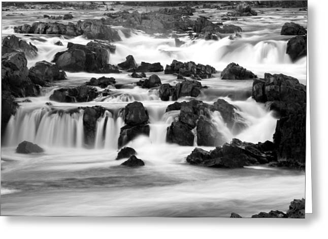 Great Falls Greeting Cards - Music Greeting Card by Mitch Cat