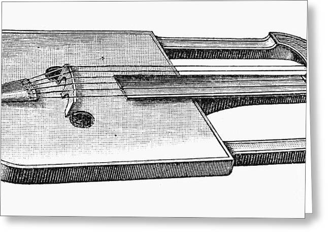 Wal Greeting Cards - Musical Instrument: Crwth Greeting Card by Granger