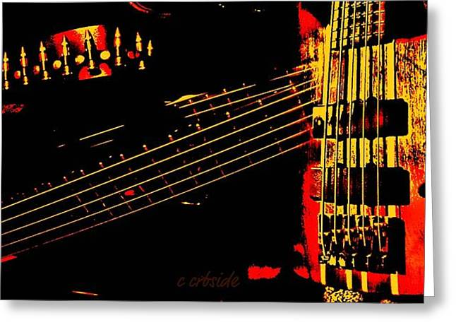 Hardware Greeting Cards - Musical Panorama  Greeting Card by Chris Berry