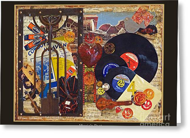 Music Of The Past Greeting Cards - Musics Past - 2012 Greeting Card by Tam Ishmael - Eizman