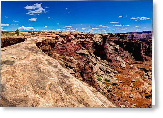 Erosion Greeting Cards - Musselman Arch Greeting Card by Chad Dutson