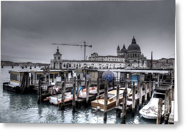 My Angle 2 Greeting Card by Uros Zunic