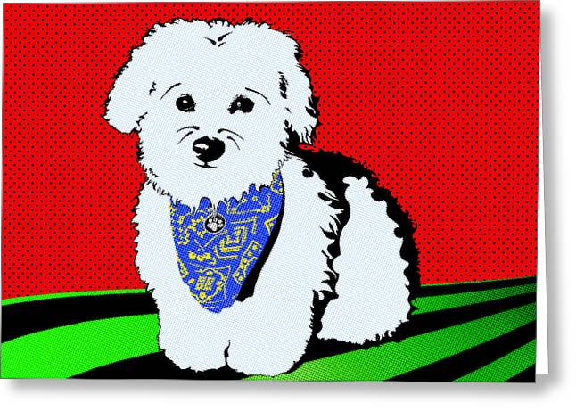 Coton De Tulear Greeting Cards - My Beloved Greeting Card by Crista Smyth