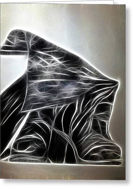 Boots Digital Art Greeting Cards - My Boots 2 Greeting Card by Lisa Stanley