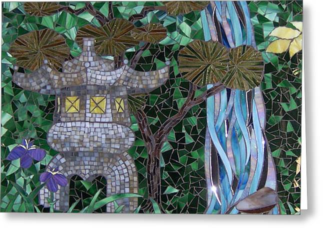 My Dream Goes Wandering Greeting Card by Barbara Benson Keith