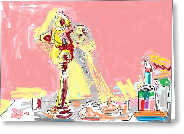 Loose Style Digital Greeting Cards - My Dresser Greeting Card by Anita Dale Livaditis