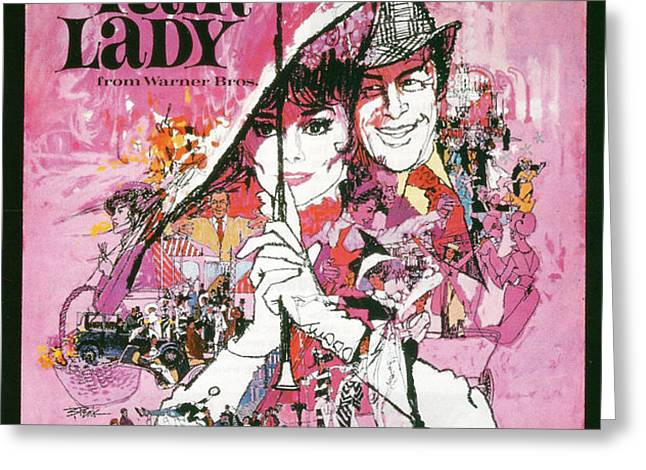 My Fair Lady Greeting Card by Nomad Art And  Design