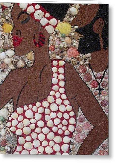Gypsy Mixed Media Greeting Cards - My Gypsy Woman Greeting Card by Ben Sivells