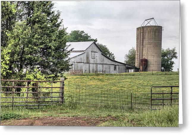 Fauquier County Greeting Cards - My Kind of Gated Community  Greeting Card by JC Findley
