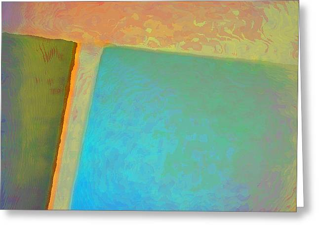 Greeting Card featuring the digital art My Love by Richard Laeton