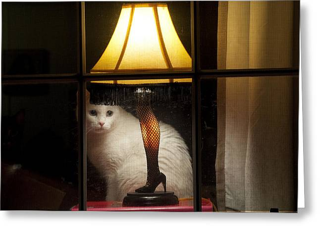 A Christmas Story Greeting Cards - My Major Award Greeting Card by Kenneth Albin