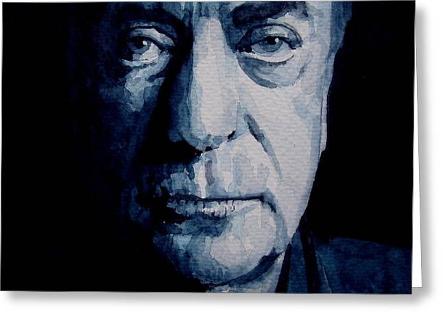 My name is Michael Caine Greeting Card by Paul Lovering