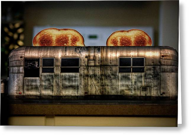 My Old Toaster Greeting Card by Jan Maklak