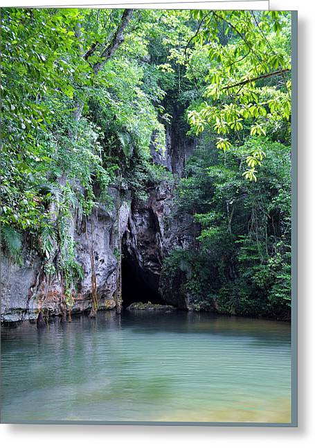 Water In Caves Greeting Cards - My Peace Greeting Card by Li Newton