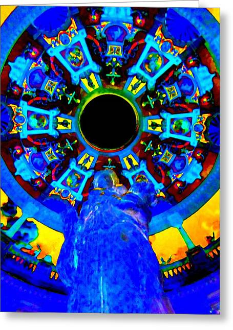 The Vault Digital Greeting Cards - My Vegas Caesars 21 Greeting Card by Randall Weidner