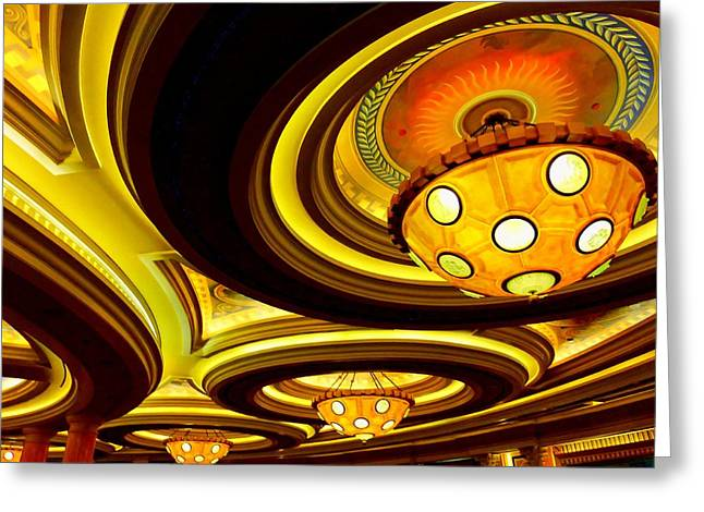 The Vault Greeting Cards - My Vegas Caesars 24 Greeting Card by Randall Weidner