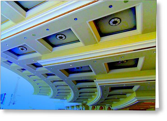 The Vault Greeting Cards - My Vegas Caesars 27 Greeting Card by Randall Weidner