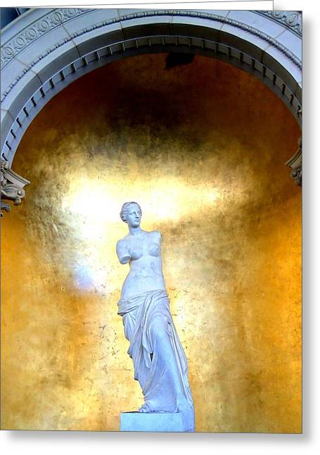 The Vault Photographs Greeting Cards - My Vegas Caesars 29 Greeting Card by Randall Weidner