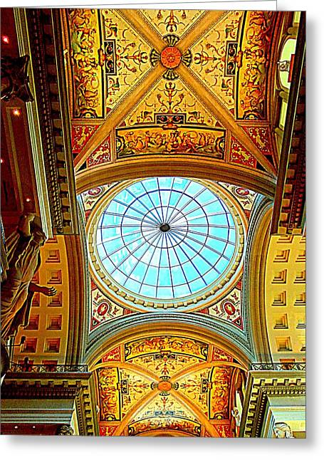 The Vault Photographs Greeting Cards - My Vegas Caesars 6 Greeting Card by Randall Weidner