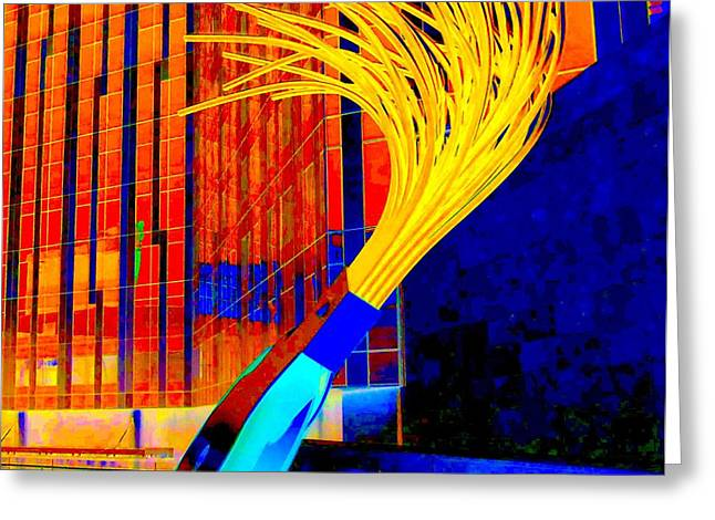 Oldenburg Greeting Cards - My Vegas City Center 30 Greeting Card by Randall Weidner