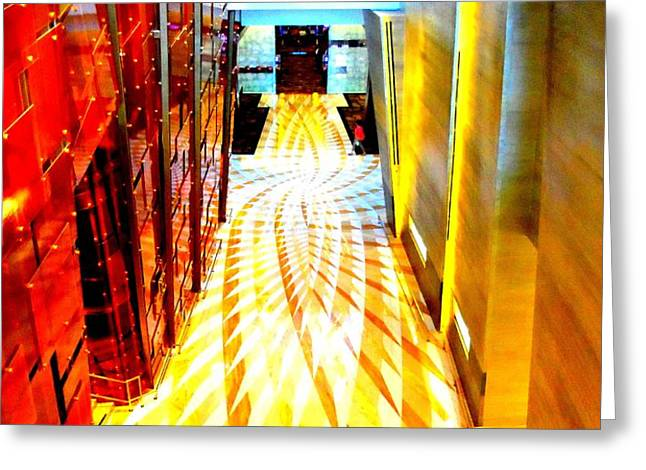 My Vegas City Center 43 Greeting Card by Randall Weidner