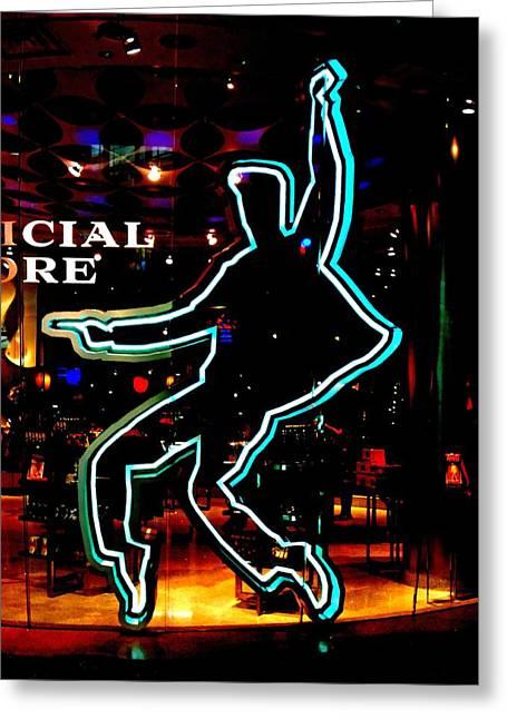 Viva Las Vegas Greeting Cards - My Vegas Elvis 1 Greeting Card by Randall Weidner