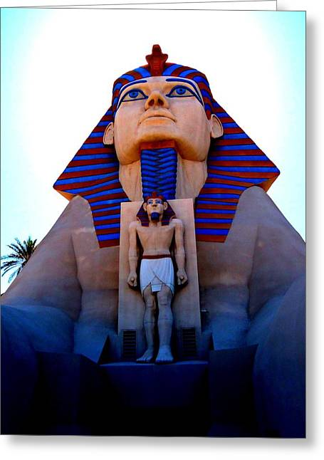 Luxor Greeting Cards - My Vegas Luxor 4 Greeting Card by Randall Weidner