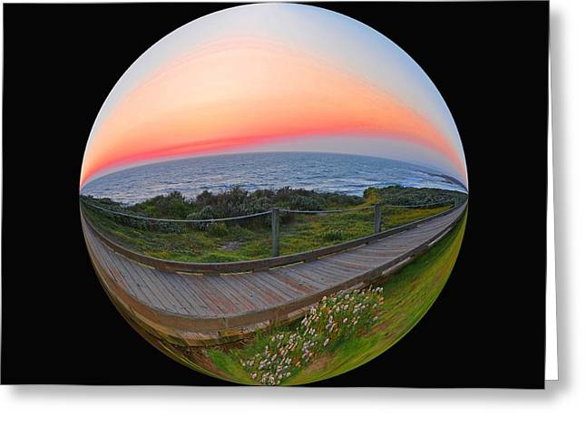 Cambria Greeting Cards - My World 3 Greeting Card by Lynn Bauer