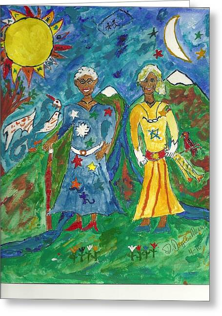 Majic Greeting Cards - Mystic Hope Greeting Card by D Douglas Merrell