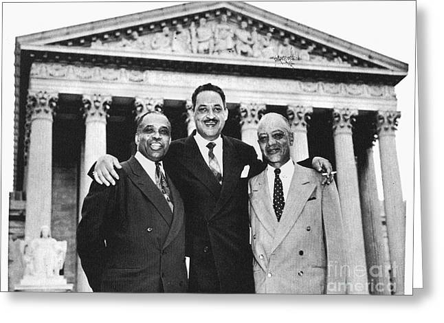 Naacp Greeting Cards - Naacp Attorneys, 1954 Greeting Card by Granger