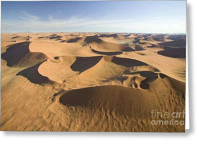 Geological Formations Greeting Cards - Namib Desert Greeting Card by Namib Desert