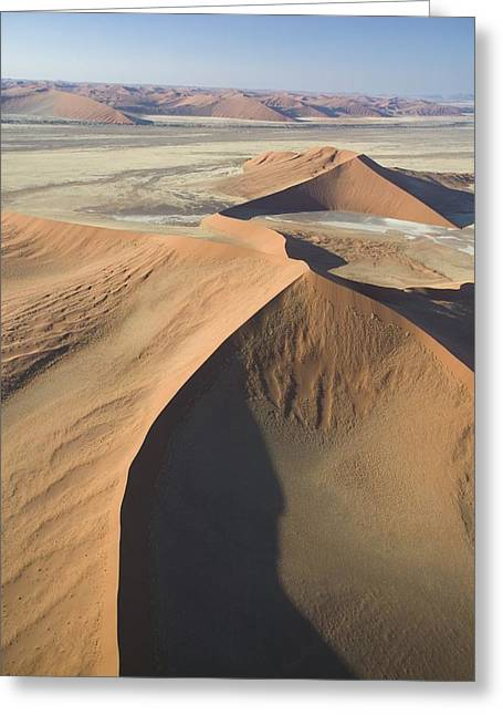 Geological Formations Greeting Cards - Namib Desert Greeting Card by Unknown