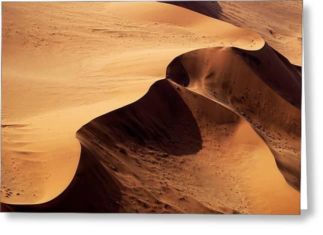 Namibia Aerial VI Greeting Card by Nina Papiorek
