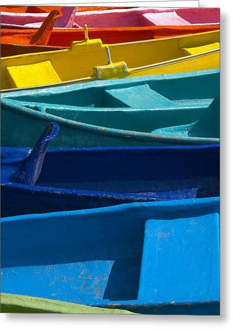 Vibrant Colors Greeting Cards - Nanciyaga Greeting Card by Skip Hunt