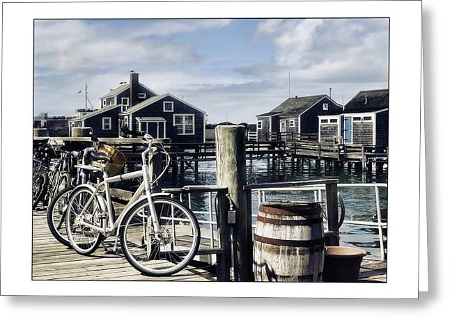 Best Sellers -  - Shack Greeting Cards - Nantucket Bikes 1 Greeting Card by Tammy Wetzel