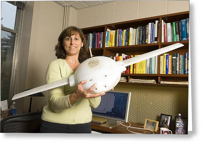 Automated Greeting Cards - Naomi Ehrich Leonard, Us Engineer Greeting Card by Volker Steger
