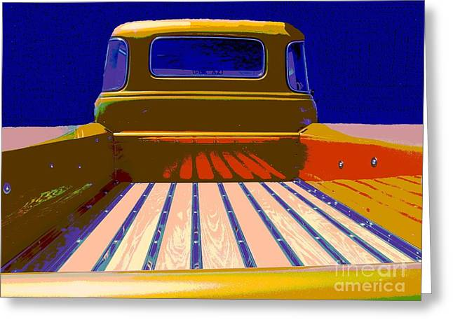 Tricked-out Cars Greeting Cards - Nap Anyone Greeting Card by Chuck Re
